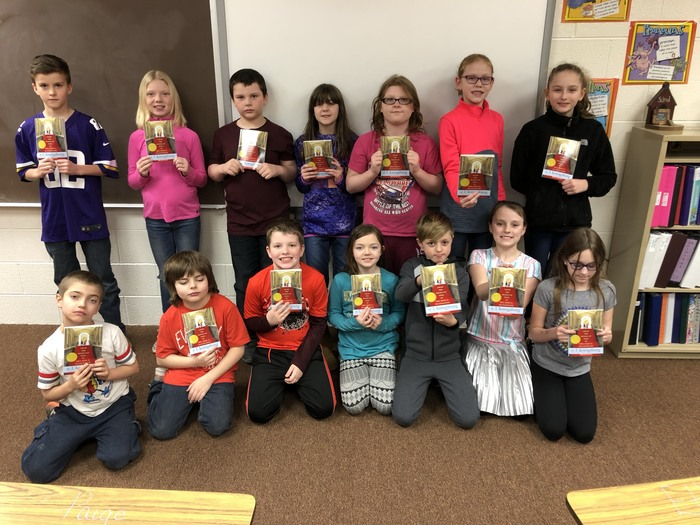 4th grade Feb 2019 Books