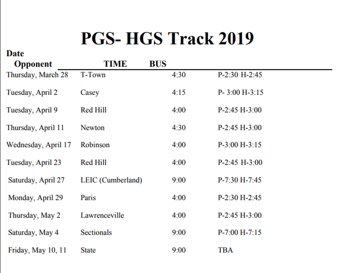 GS Track 2019