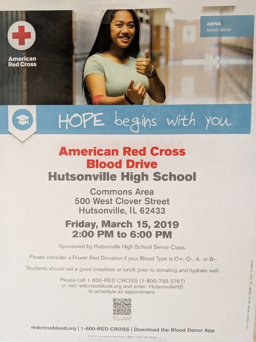 Blood Drive Mar 2019